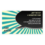 Speech Bubble Burst Double-Sided Standard Business Cards (Pack Of 100)