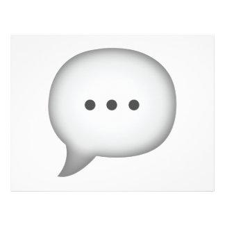 Speech Bubble - Emoji Flyer