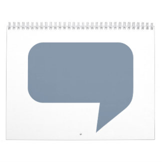 Speech bubble logo calendar