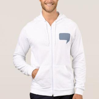 Speech bubble logo hoodie