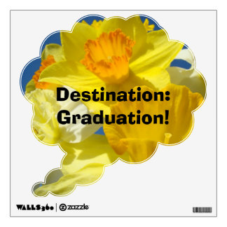 Speech Bubble wall decal Destination Graduation