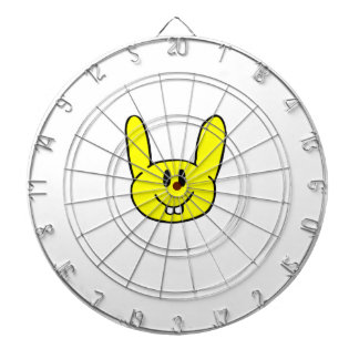 Speech Bunny Dartboard With Darts