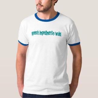 Speech Impediments WULE! T-Shirt