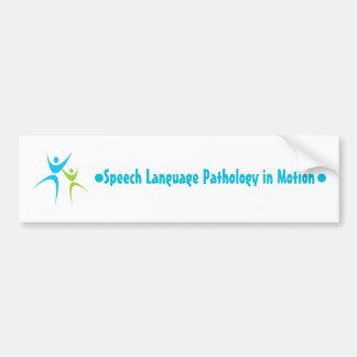 Speech in Motion - Bumper sticker
