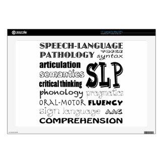 "Speech Language Pathologist 17"" Laptop Decals"