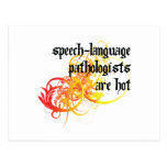 Speech-Language Pathologists Are Hot Postcard