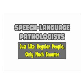 Speech-Language Pathologists...Smarter Postcard