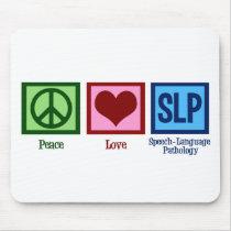 Speech Language Pathology Mouse Pad