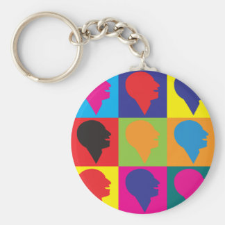 Speech Language Pathology Pop Art Keychain