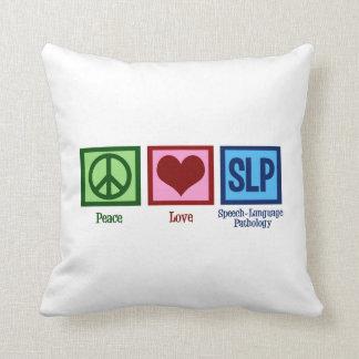 Speech Language Pathology Throw Pillow