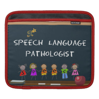 Speech Pathologist's iPad Sleeve