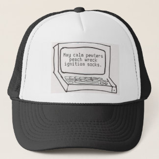 Speech recognition - it' getting better-er trucker hat
