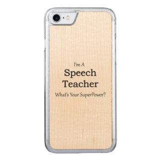 Speech Teacher Carved iPhone 7 Case