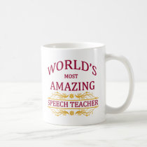 Speech Teacher Coffee Mug
