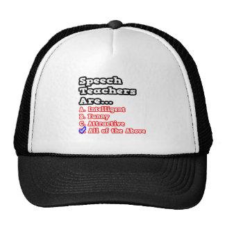 Speech Teacher Quiz...Joke Hat