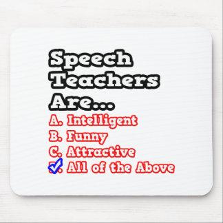 Speech Teacher Quiz...Joke Mousepads