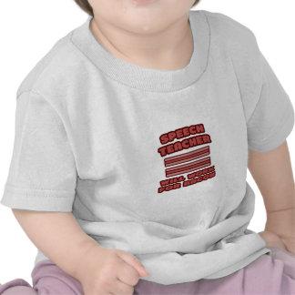 Speech Teacher .. Will Work For Bacon T Shirt