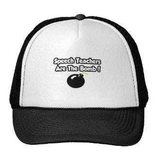 Speech Teachers Are The Bomb! Hat