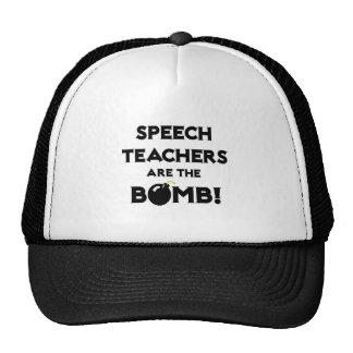 Speech Teachers Are The Bomb! Hats