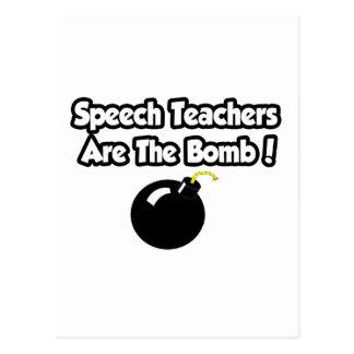 Speech Teachers Are The Bomb! Post Cards