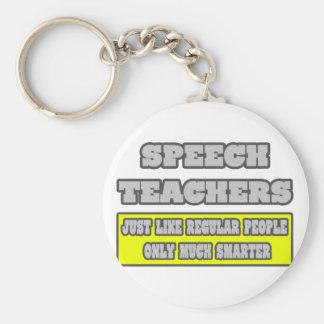 Speech Teachers...Much Smarter Keychain