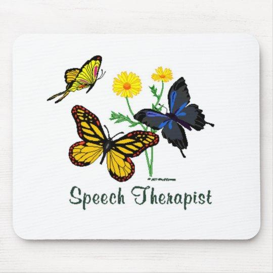 Speech Therapist Butterflies Mouse Pad