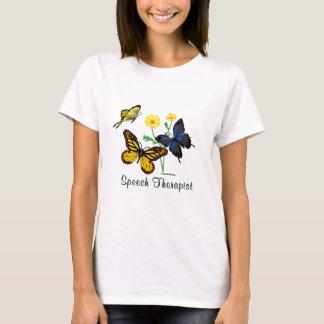 Speech Therapist Butterflies T-Shirt