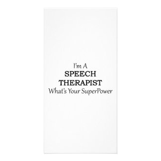 SPEECH THERAPIST CARD