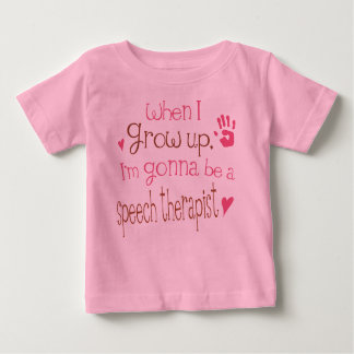 Speech Therapist (Future) Infant Baby T-Shirt