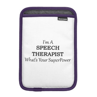SPEECH THERAPIST iPad MINI SLEEVE