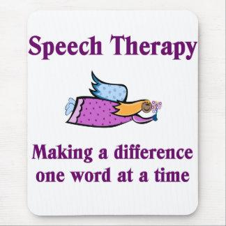 Speech Therapist Mouse Pad