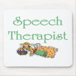 Speech Therapist Mouse Pad with Angel