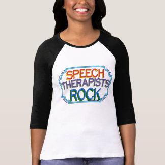Speech Therapists Rock T-Shirt
