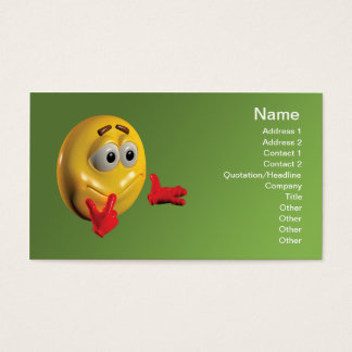 Speech Therapy Business Card