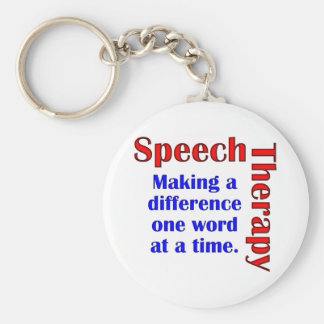 Speech Thereapy Keychain