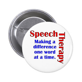 Speech Thereapy Pin