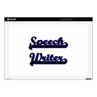 Speech Writer Classic Job Design Decal For Laptop