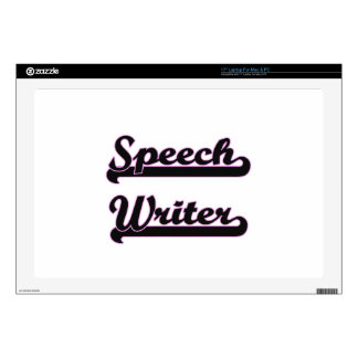 Speech Writer Classic Job Design Skin For Laptop