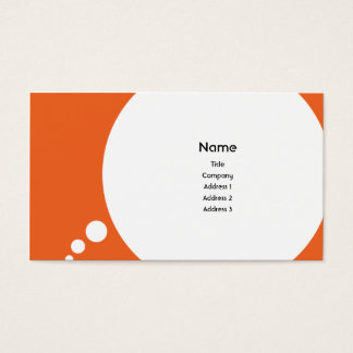 Speechbubble - Business Business Card