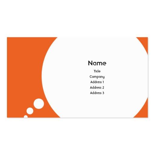 Speechbubble - Business Business Card Template