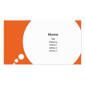Speechbubble - negocio tarjeta de negocio