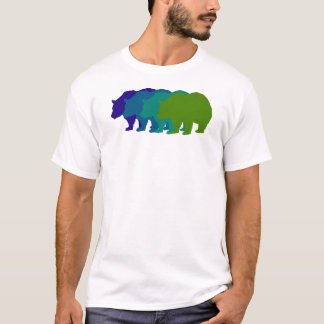 Speed Bear in Blue T-Shirt