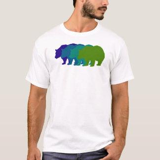 Speed Bear in Blue T-Shirt