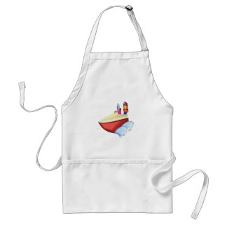 Speed Boat Adult Apron