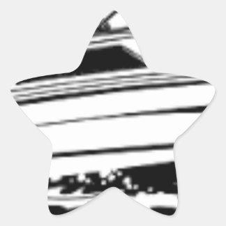 Speed Boat Cruiser Star Sticker