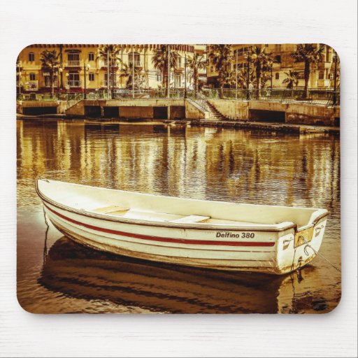 Speed Boat Haven Mousepad