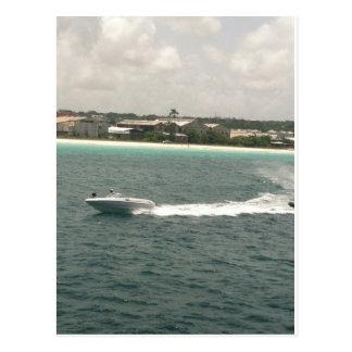 Speed Boat Postcard