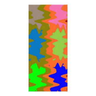 Speed Breaker Waves - Image Text Customizable Rack Card Design