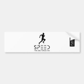 Speed Bumper Sticker