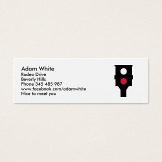 Speed camera mini business card